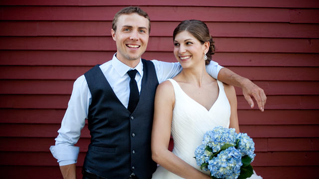 PHOTO: Julia Levine Rogers, 27, and Tom Rogers, 29, of Stowe, Vt., were married in August. Julia, like the majority of American women, decided to take her husbands surname.