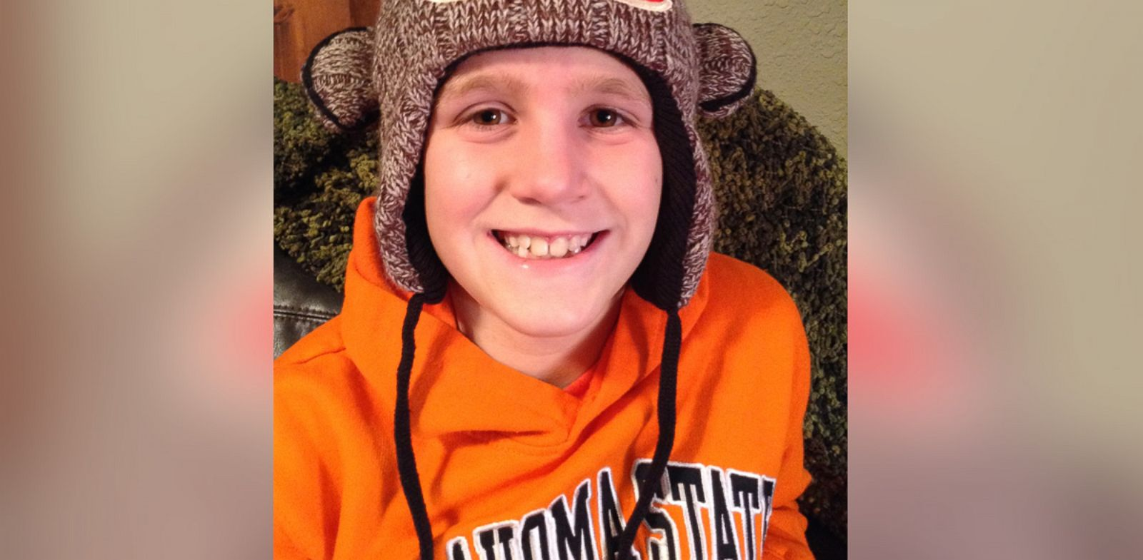 "PHOTO: Trevor Storie, 9, has a ""curable"" childhood cancer, but breaking the news to him was a challenge."