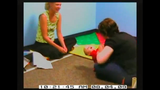 PHOTO: Weak head and neck control may be a sign of Autism Spectru Disorder (ASD).