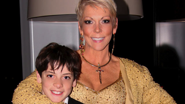 PHOTO: Wenter Blair and her 12-year-old son Christian.