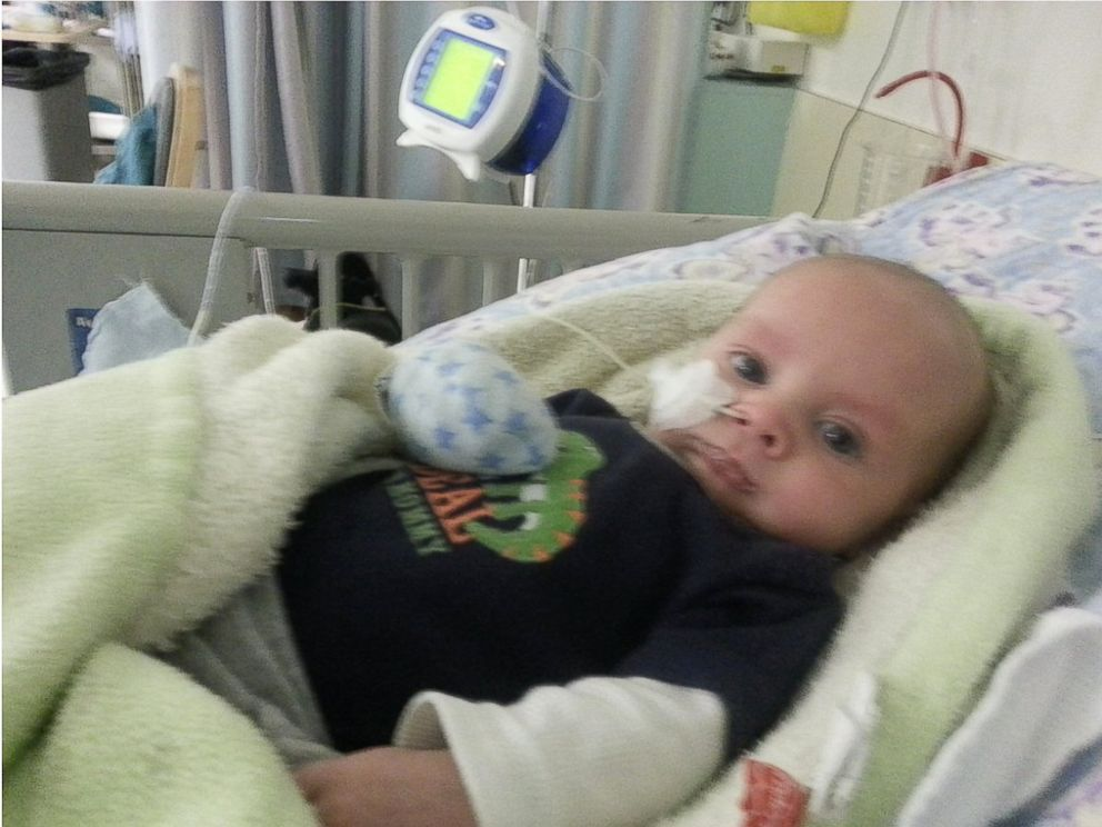 The Scotts started a website to find out whats wrong with their 10-month old, Wyatt, because doctors have never seen anything like his condition before.