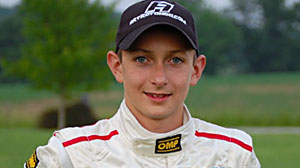 "Sixteen-year-old race car driver Zach ""Ziggy"" Veach"