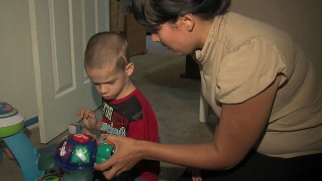 VIDEO: Zander Westons family hopes to treat epilepsy caused by cortical dysplasia, a genetic brain defect.