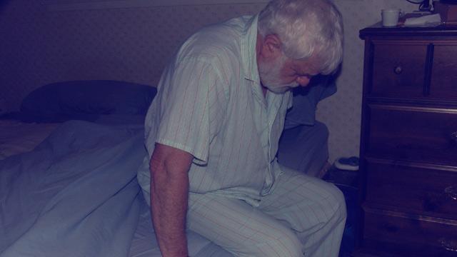 PHOTO: Sleepwalking man