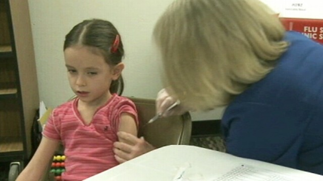 VIDEO: Eighty percent of parents have questions about vaccines or dread the shot.