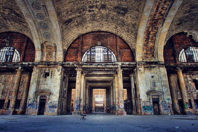 01 Detroit Michigan Central Station ll 130314 wblog Urban Decay: Structures in Ruin