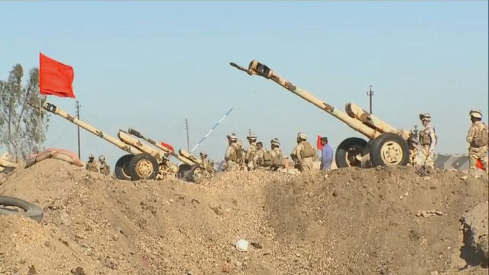 VIDEO: On the Front Lines in the Fight Against ISIS
