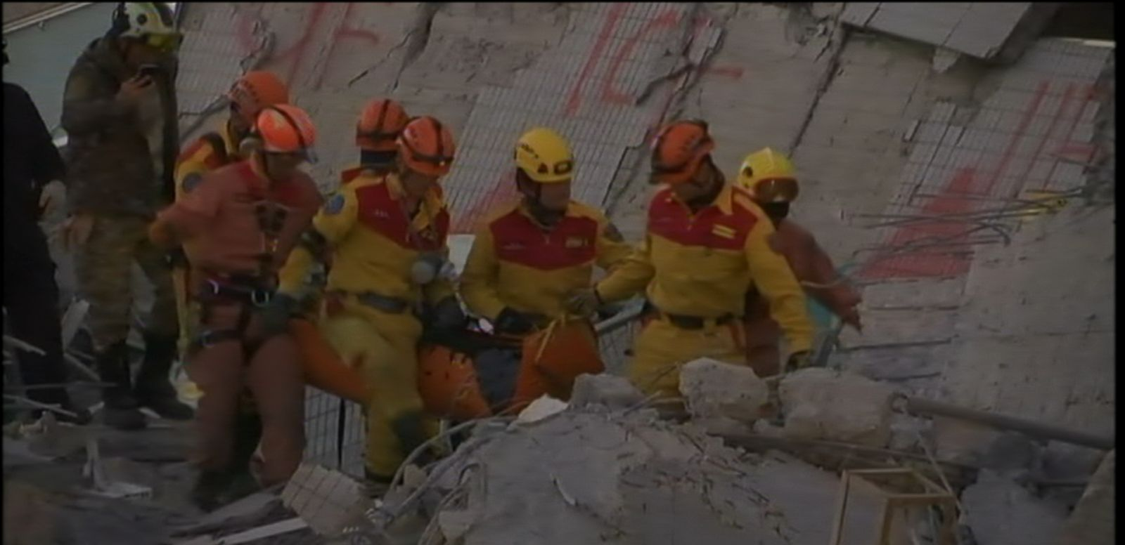 VIDEO: Two more people have been rescued after the devastating earthquake rocked Taiwan.