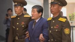 VIDEO: Kim Dong Chul was convicted six months after being accused of spying and stealing state secrets