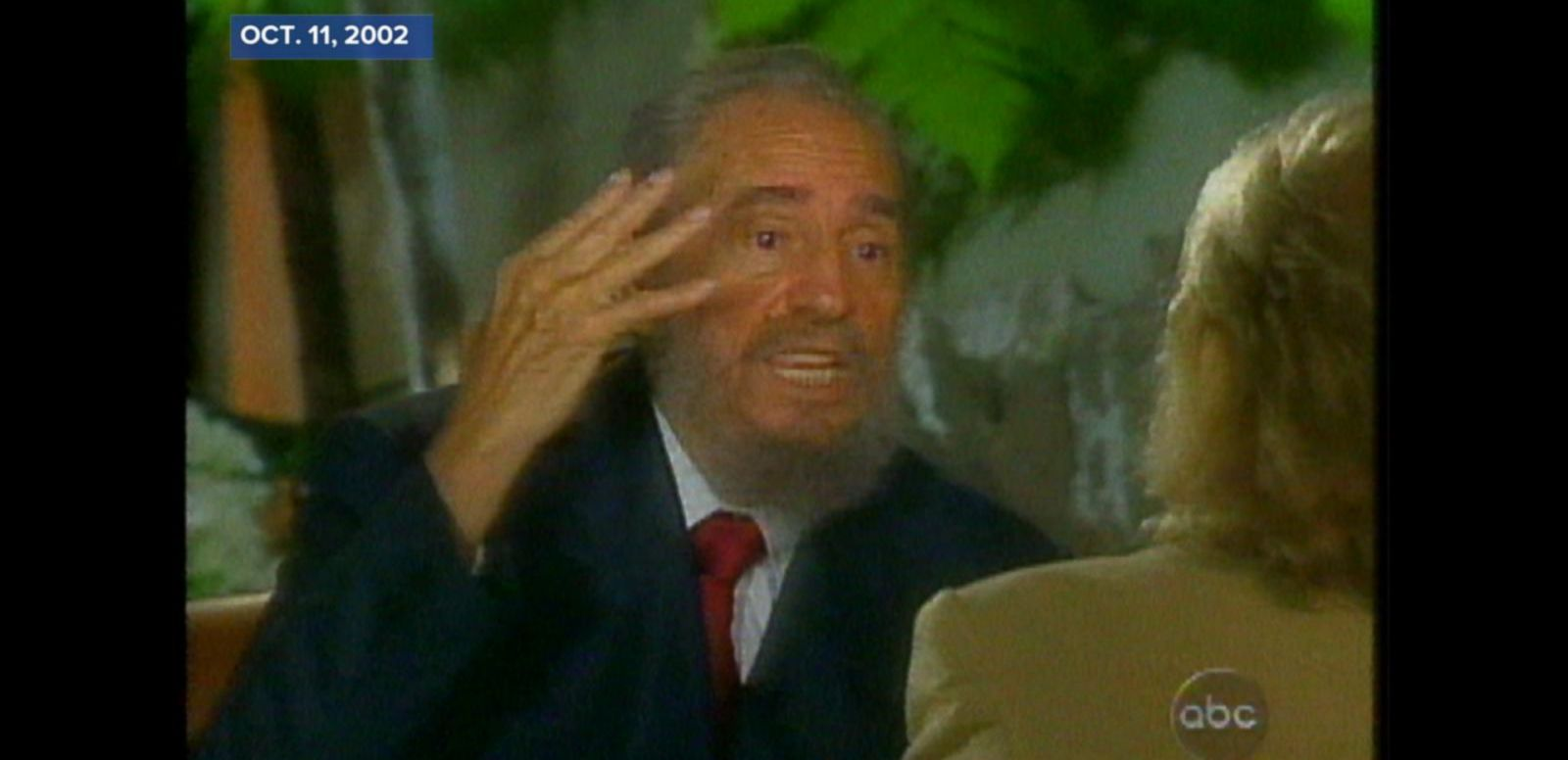VIDEO: Oct. 11, 2002: Castro imagines Cuba's economic future if the U.S. were to lift its embargo.