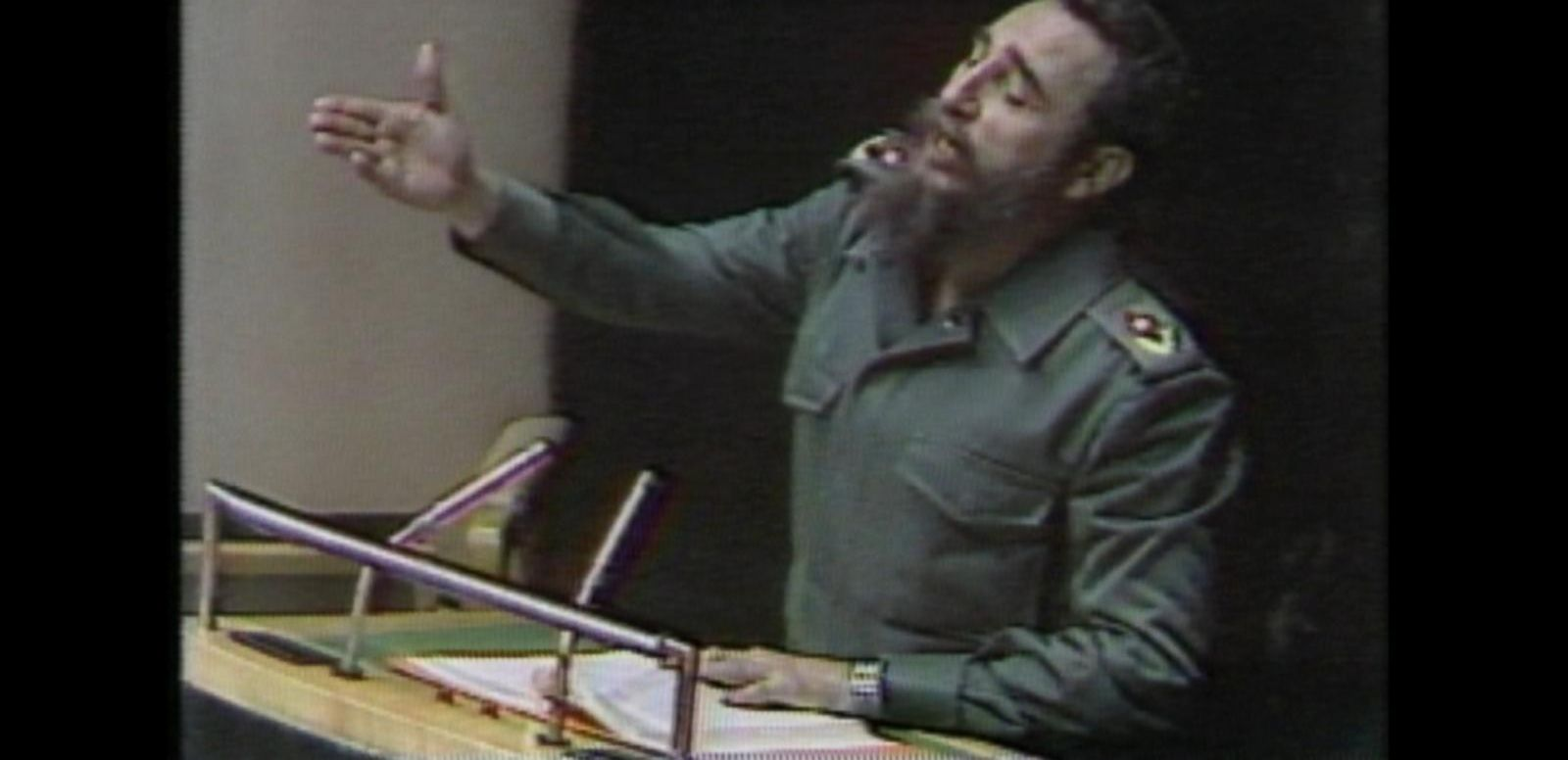 VIDEO: Oct. 12, 1979: In a U.N. address, Castro implores wealthy nations to help the poor.