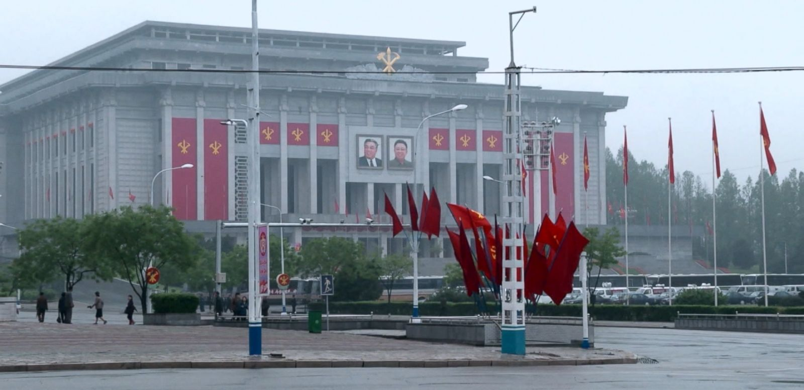 VIDEO: Journey to North Korea's Party Congress