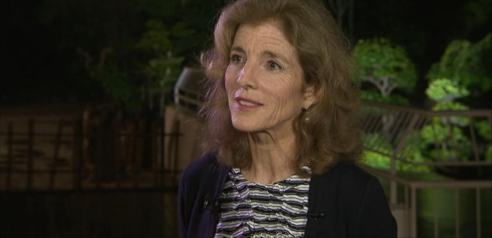 VIDEO: Caroline Kennedy Talks Obama's Visit to Japan