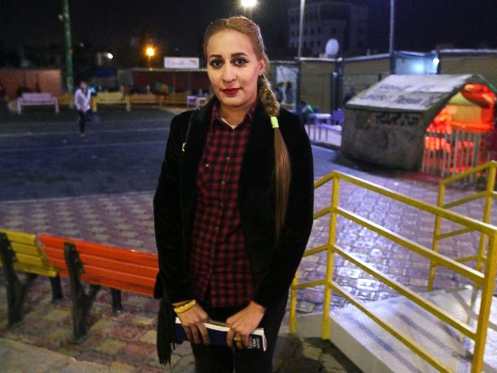 Before leaving Qaraqosh, Ranya Khaleel Majeed worked in a hospital as a laboratory assistant.