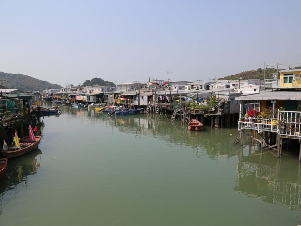 PHOTO: The village of Tai O in western Hong Kong.