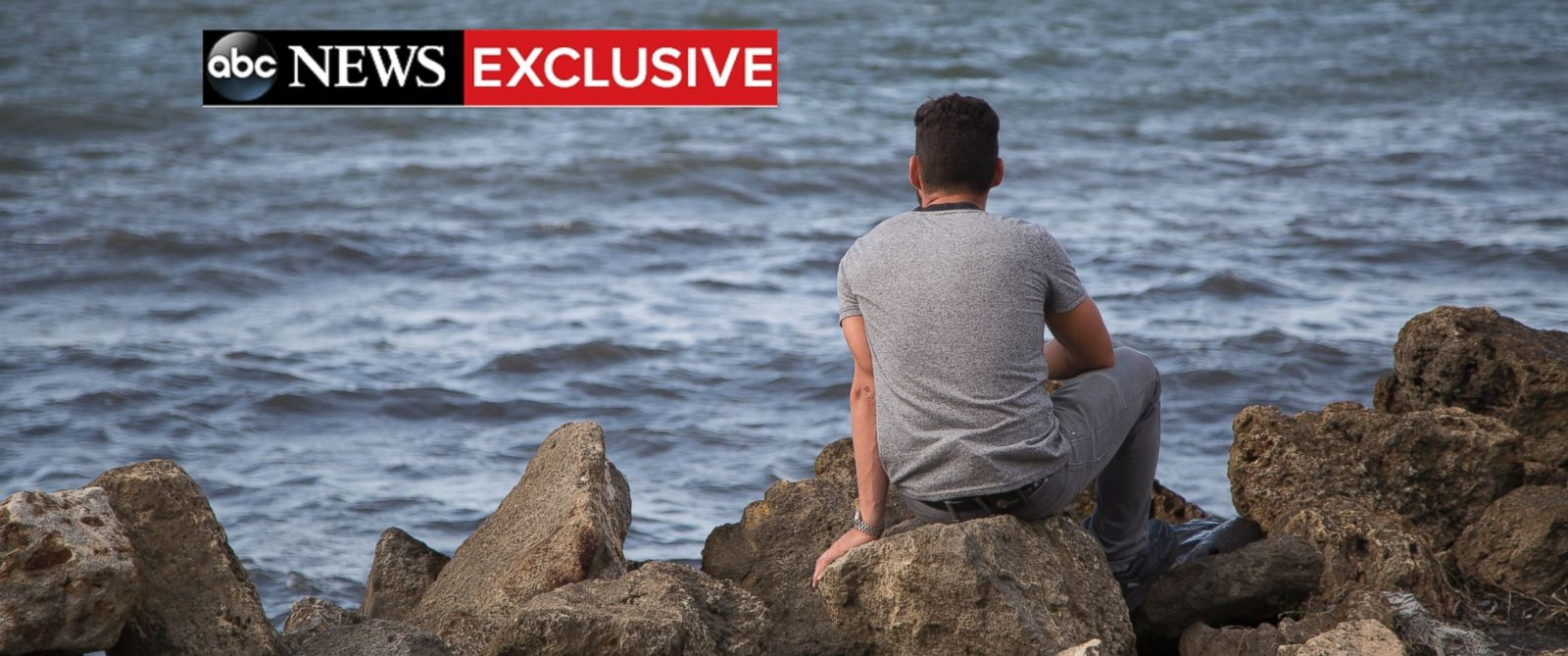 PHOTO: Elian Gonzalez looks to the sea where his mother was lost.