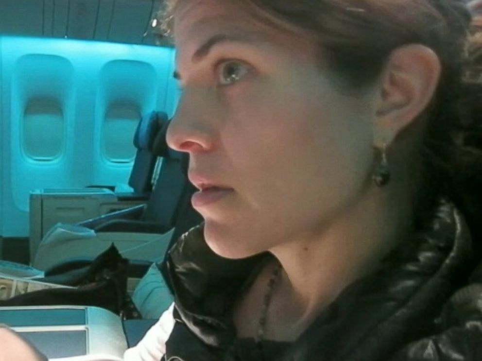 PHOTO: ABC News Gloria Riviera retraces the path of missing Malaysia Airlines Flight 370.