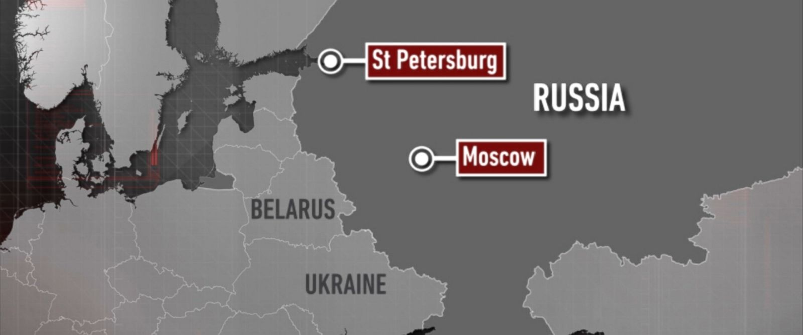 PHOTO: Russian security officials have arrested seven people over alleged plans to carry out terror attacks in Moscow and St. Petersburg.