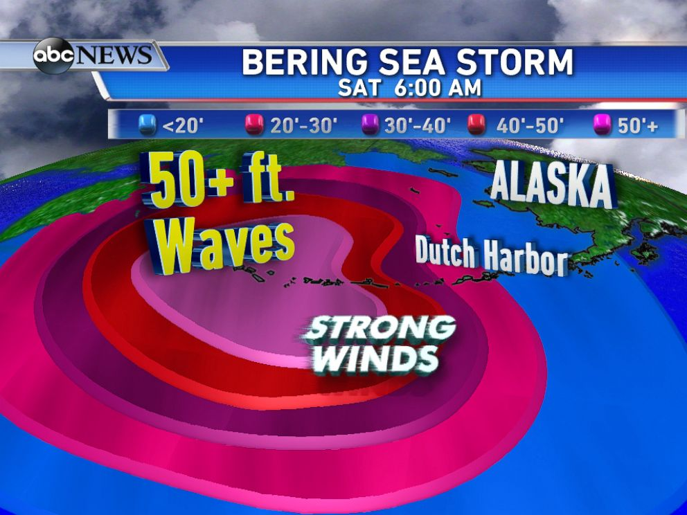 PHOTO: Typhoon Nuri is headed toward Alaska and bringing strong winds and huge waves.
