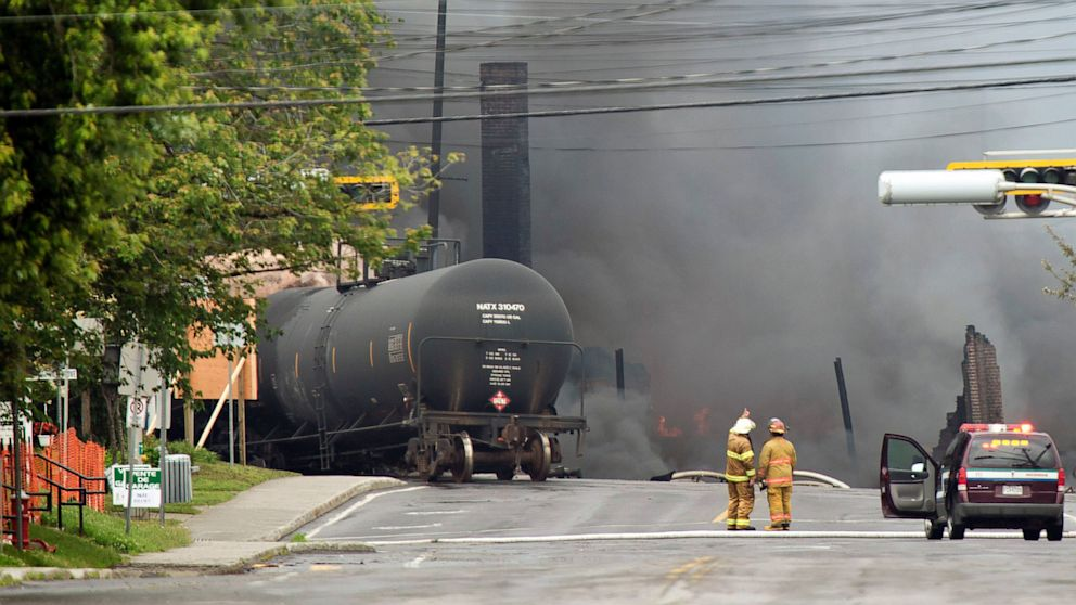 Lac-Megantic, Quebec: Canada Town Evacuated After Freight Train ...