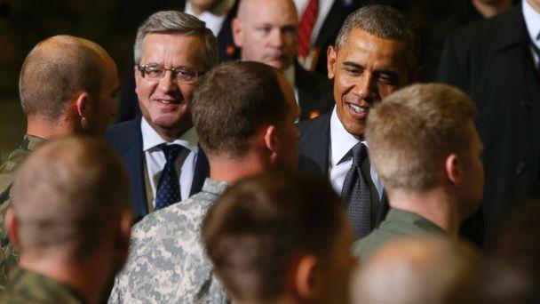 AP Obama Eurpoe 140603 DG 16x9 608 Obama Calls European Security Sacrosanct As Europe Tour Kicks Off
