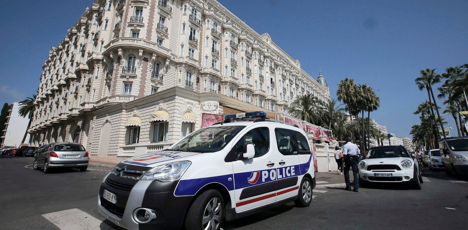 PHOTO: Carlton Intercontinental Hotel in Cannes