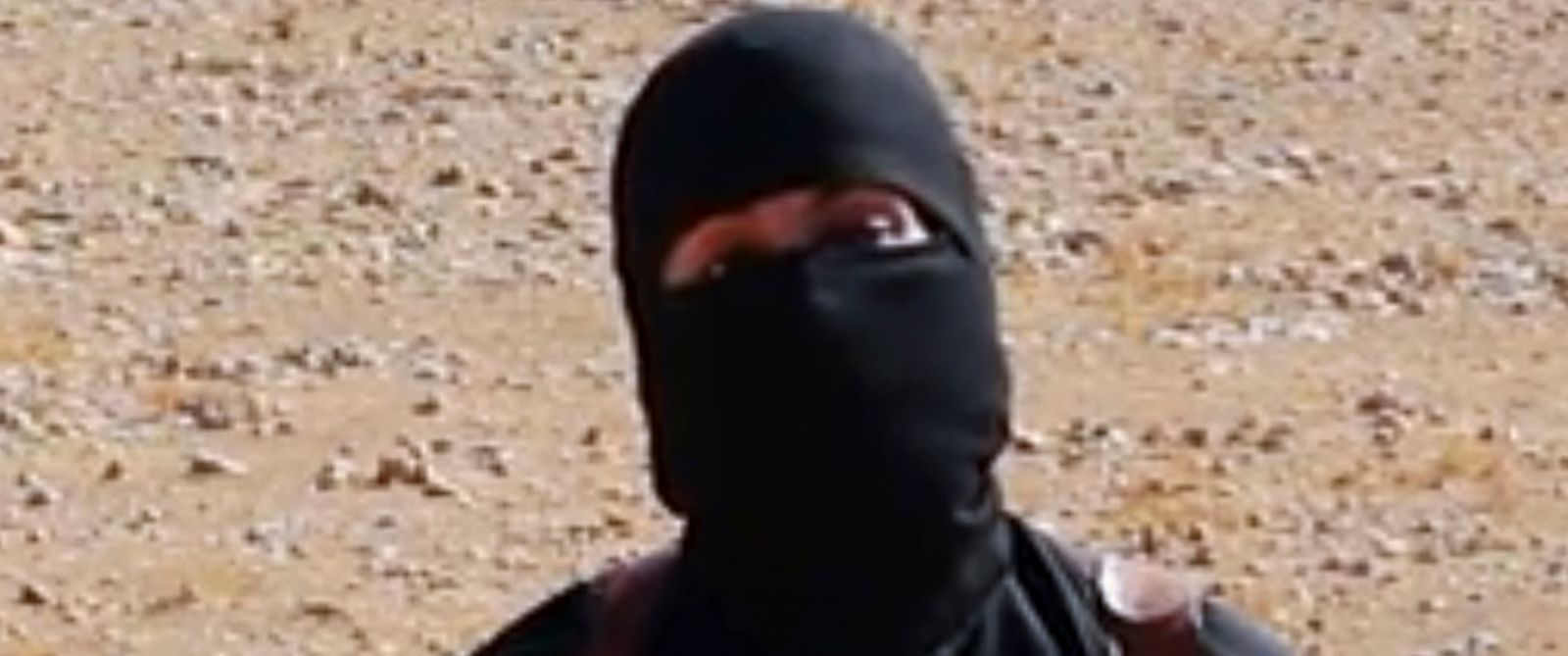 PHOTO: This still image from undated video released by Islamic State militants on Oct. 3, 2014, purports to show the militant known as Jihadi John.