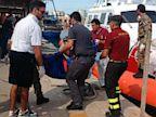 PHOTO: Italian Shipwreck Deaths