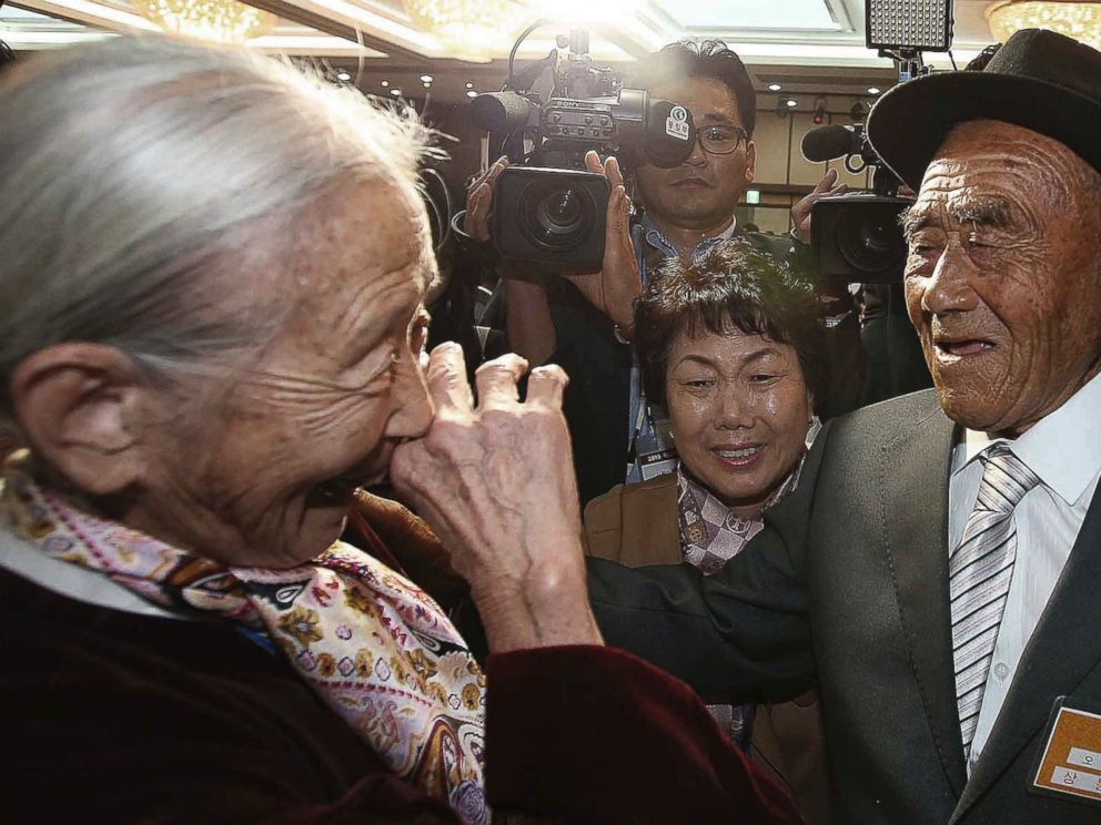 Emotional Reunions for Korean Relatives Separated Since ...