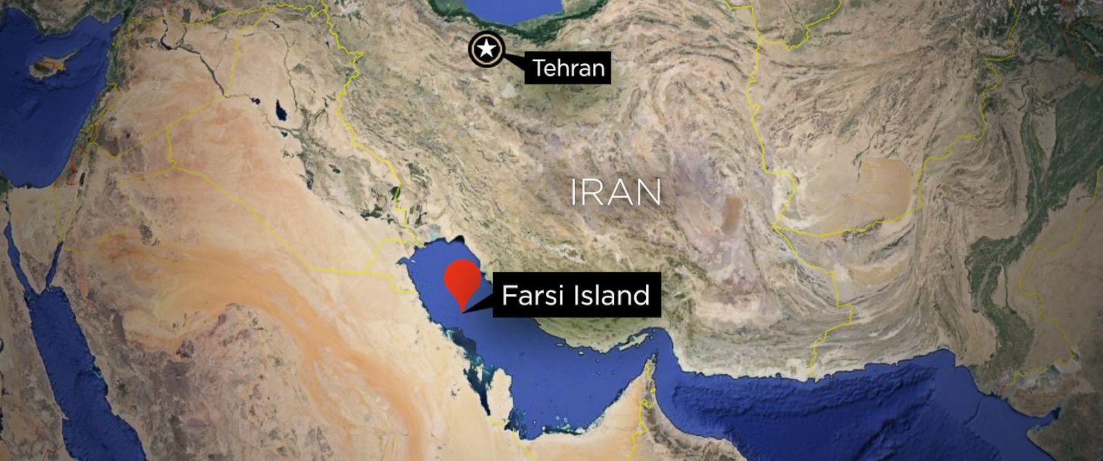 Farsi Island Map - ABC News
