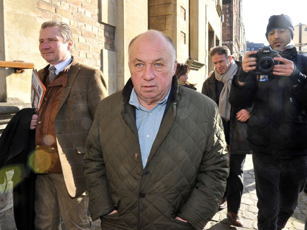 PHOTO: Belgian pimp Dominique Alderweireld, aka Dodo la Saumure, one of the 14 defendants of the so-called Carlton Case trial, is seen prior to attending the first day of the trial at the Lille courthouse, northern France, Feb. 2, 2015.