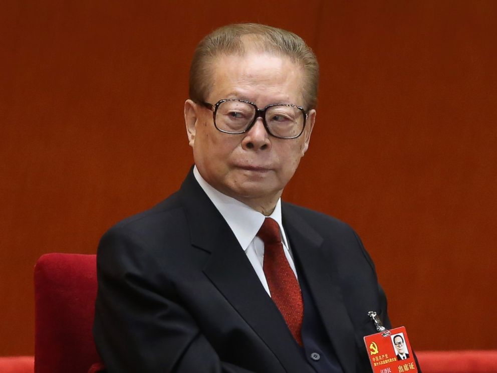 PHOTO: Former Chinese President Jiang Zemin attends the opening session 18th Communist Party Congress at the Great Hall of the People in Beijing, Nov. 4, 2012.
