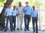 Prince Harry Takes Time Out to Mentor Kids