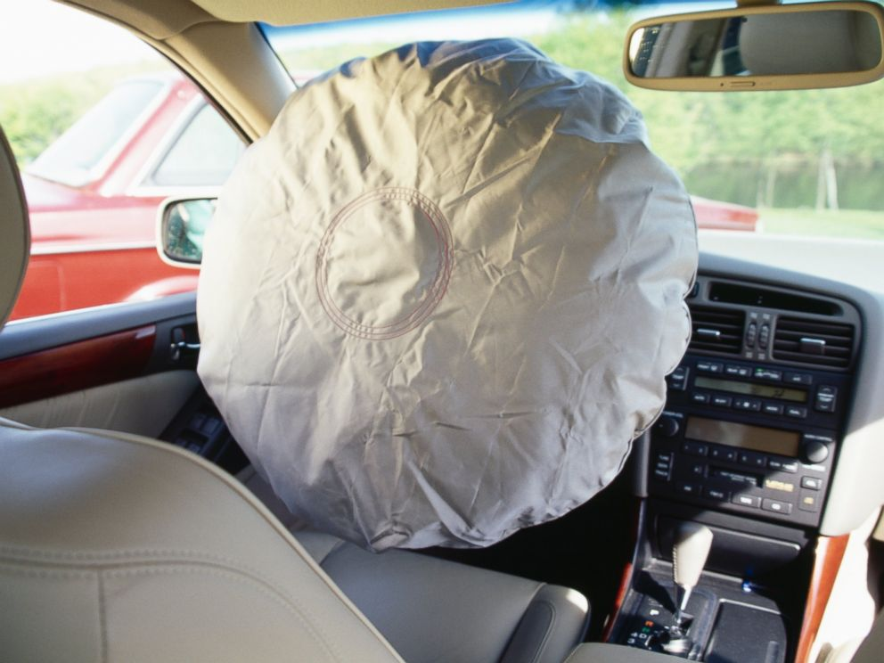 PHOTO: An airbag is pictured in this stock image.