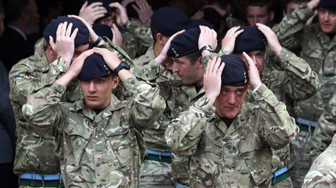 GTY english berets thg 111123 wblog Today in Pictures: Nov. 23, 2011