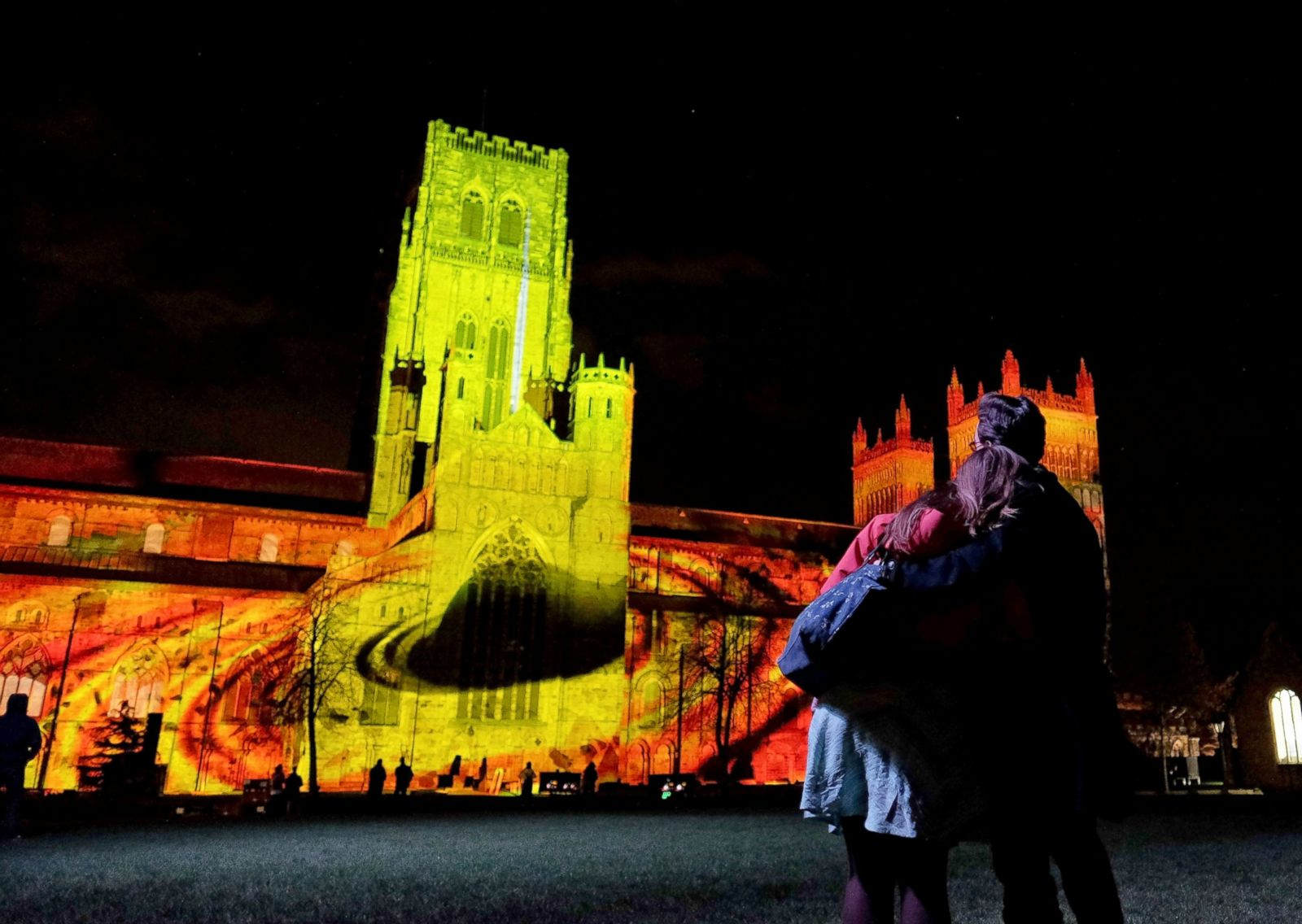 Picture Fourth Annual Lumiere Light Festival ABC News