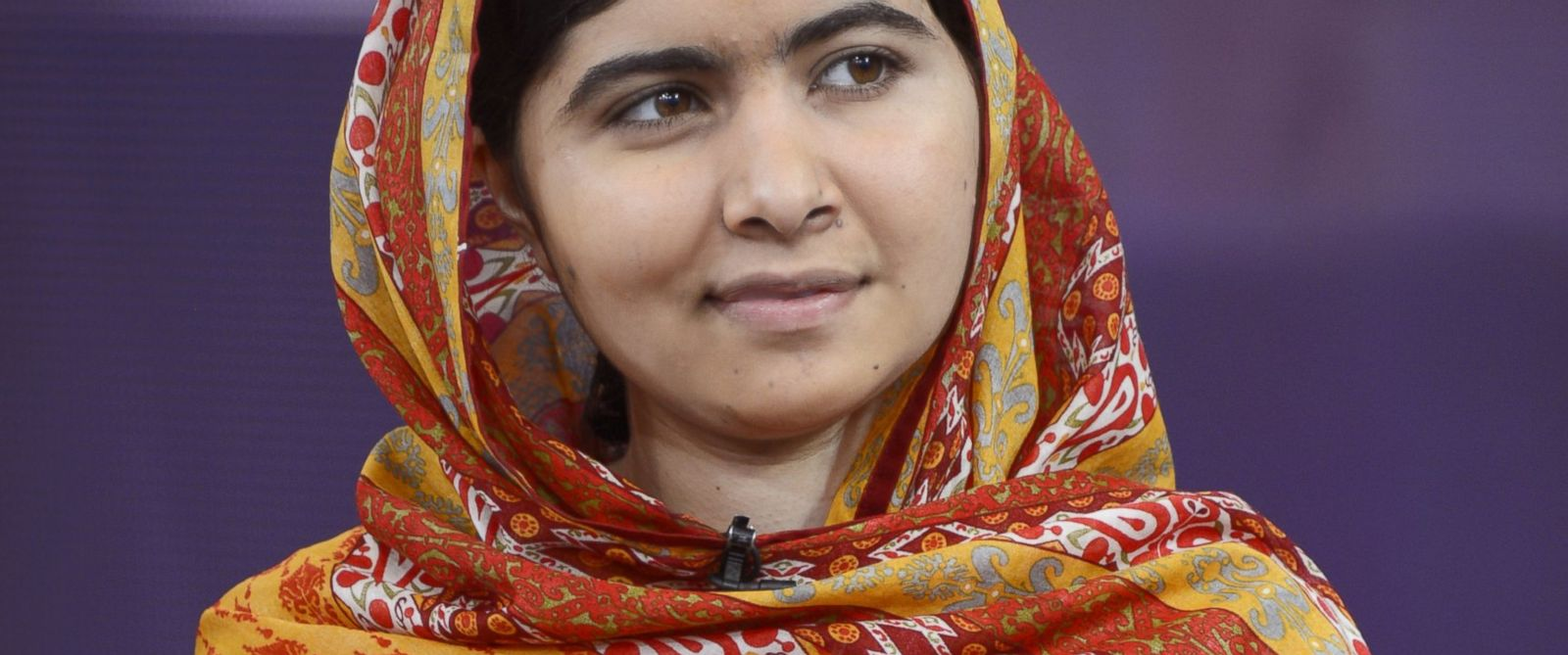 """PHOTO: Malala Yousafzai appears on the Aug. 18, 2014 episode of """"Good Morning America."""""""
