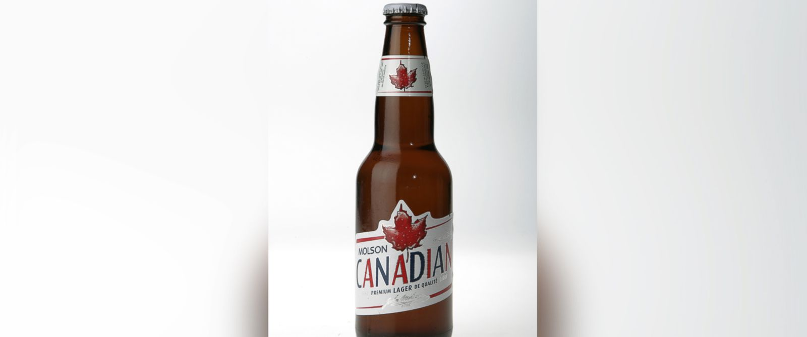 """PHOTO: A Molson Canadian beer fridge only opens when """"O Canada"""" is performed correctly and in its entirety."""