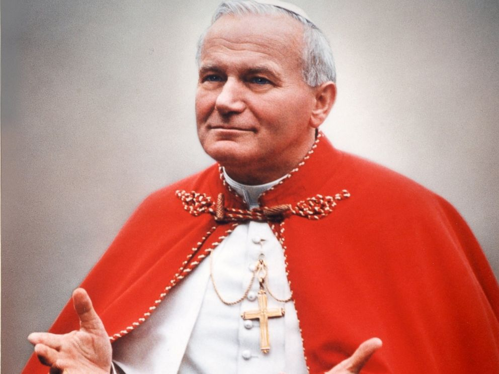 PHOTO: Pope John Paul II photographed in Boston, 1979.
