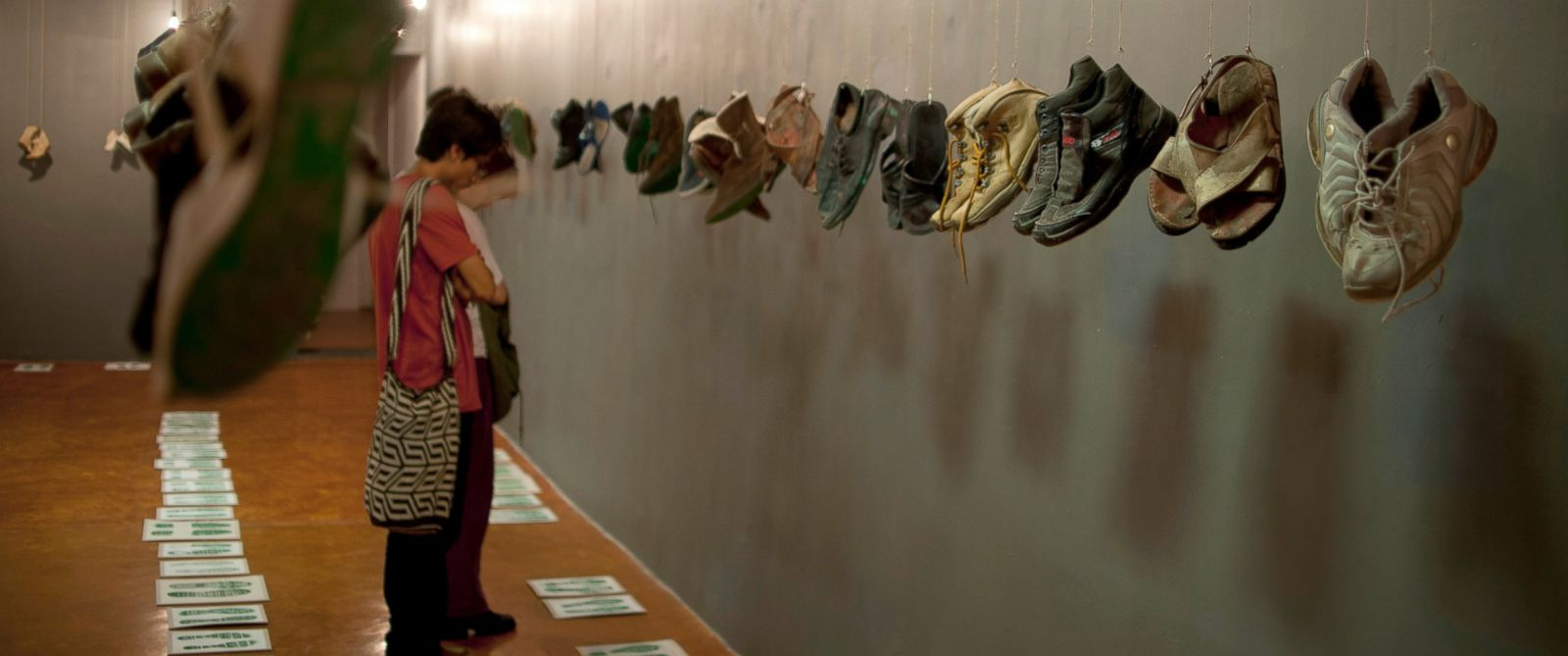 Hanging Shoes Honor Thousands of Missing People in Mexico Museum - ABC News