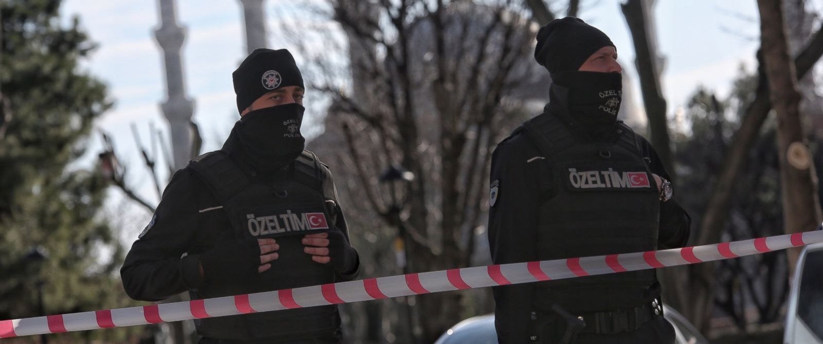 PHOTO:Turkish police secure the area after an explosion in the central Istanbul Sultanahmet district, Jan. 12, 2016, in Istanbul.