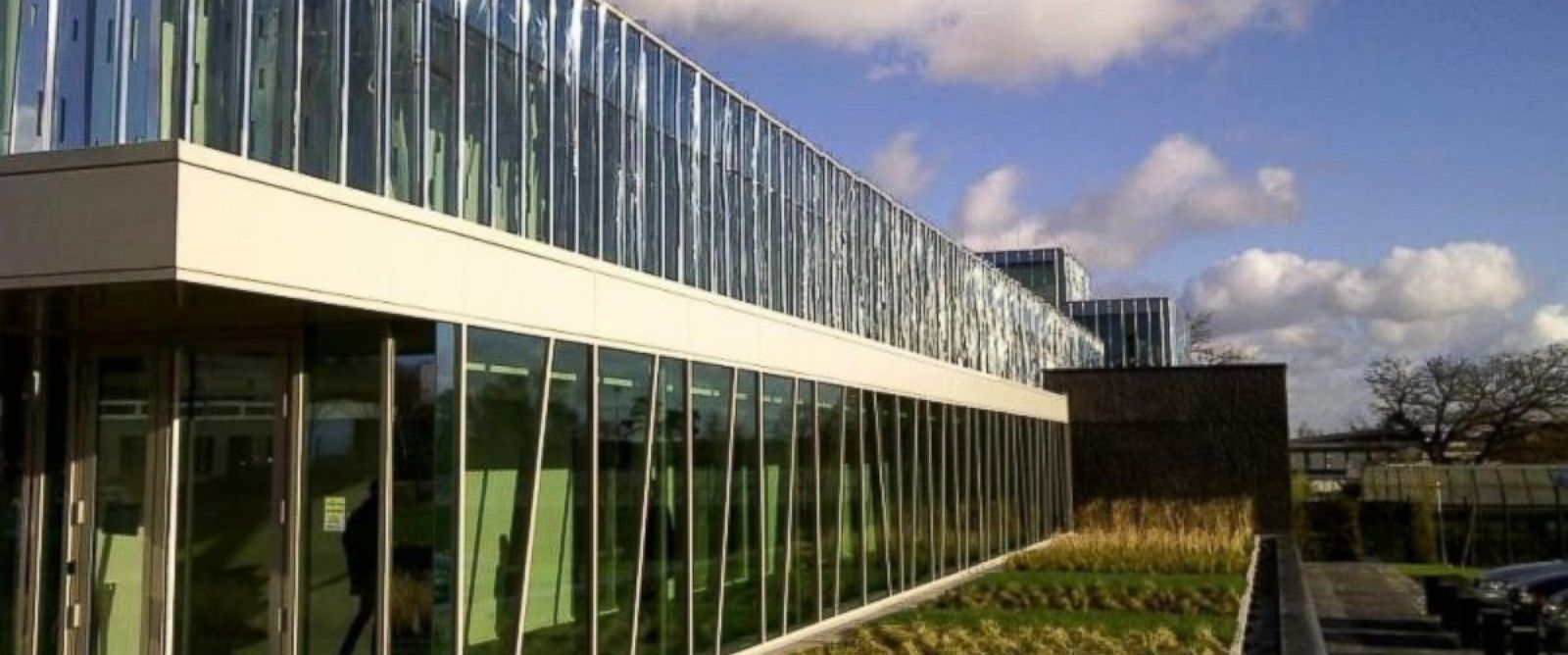 PHOTO: The exterior of the Biotrial clinic in Rennes, France is seen in this undated photo.