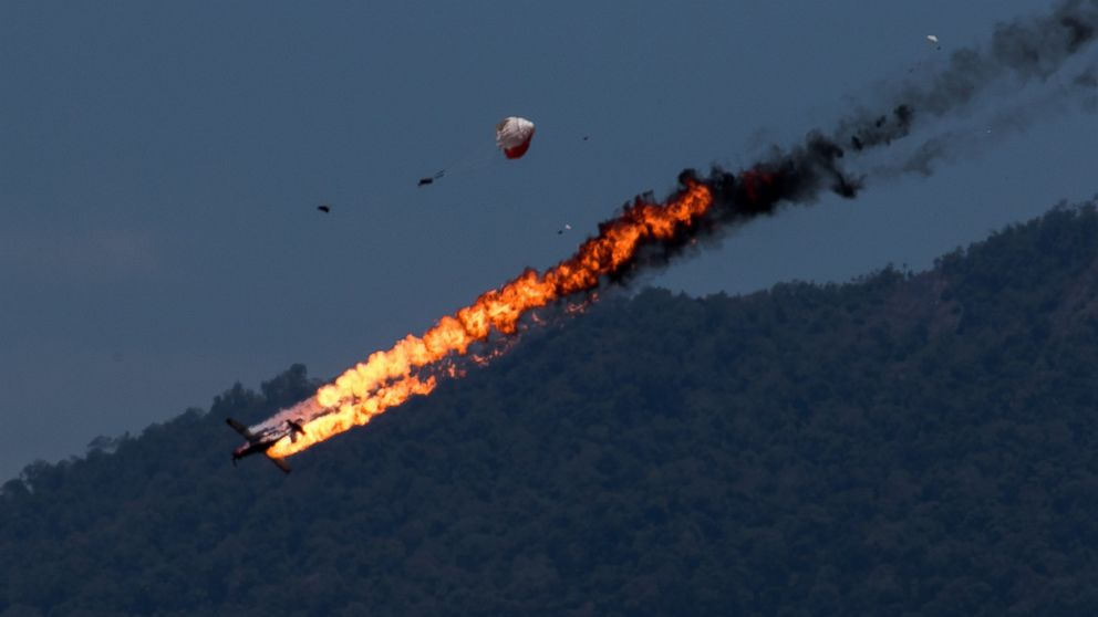 ... in Fiery Crash During Practice for Malaysia Air Show - ABC News