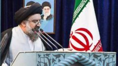 PHOTO: In Iran, Friday sermons have dual religious/political connotations.