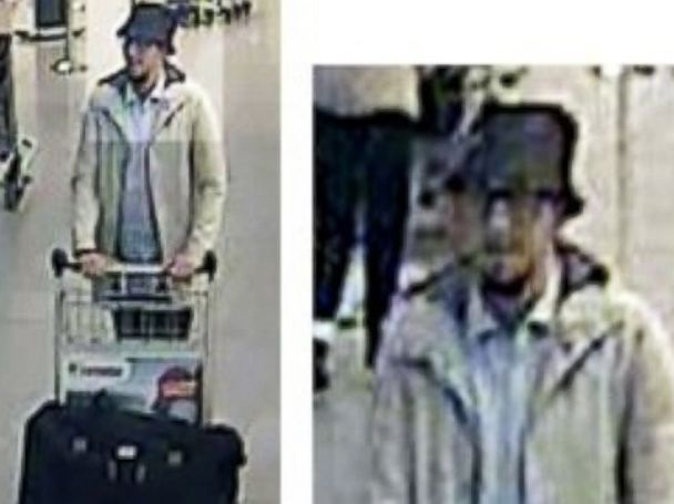 PHOTO: The Belgian Federal Police posted this image on Twitter with the message, #TERRORISM Who knows this man?