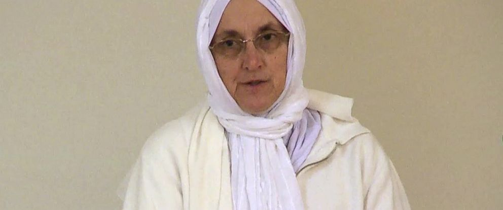 PHOTO: Paula Kassig, mother of Abdul Rahman Kassig, speaks at the Islamic Society of North America in Indiana Oct. 10, 2014.