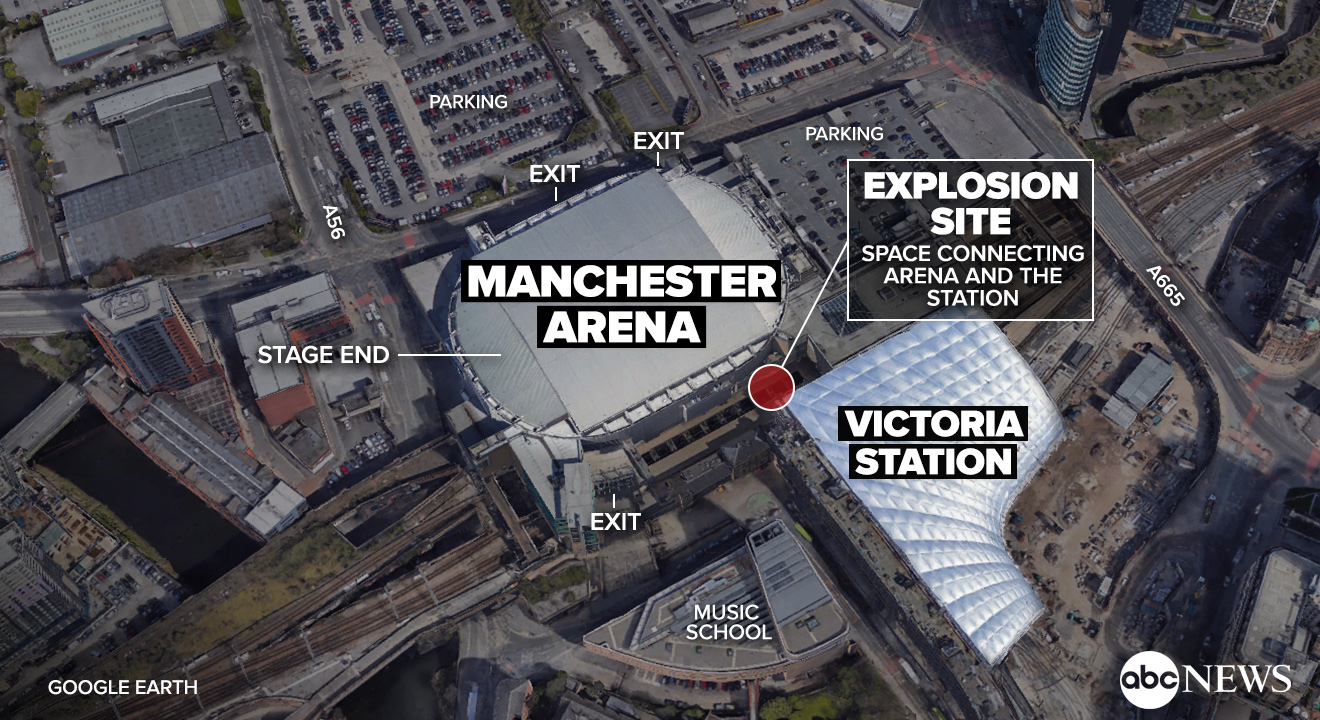 8yearold Among 22 Dead In 39sickening39 Manchester Suicide