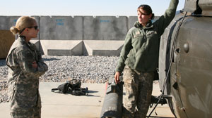 Female Combat Pilots Earn Respect in Afghanistan
