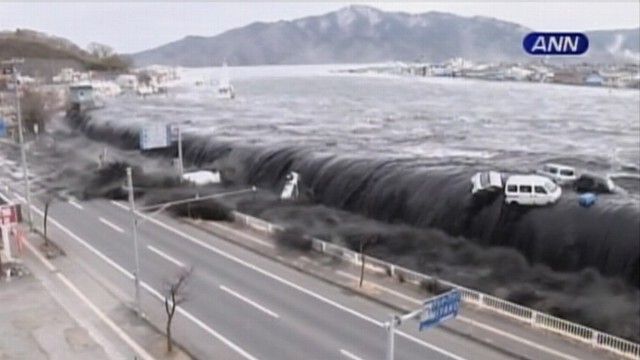VIDEO: Boats and cars smashed like matchsticks by tsunami wave in the city of Miyako.