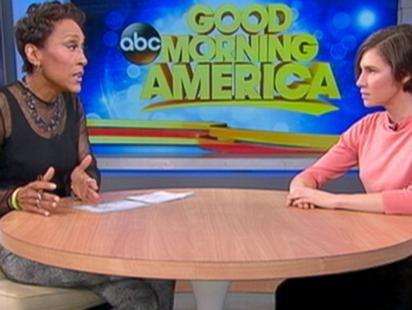 Amanda Knox Talks To GMA